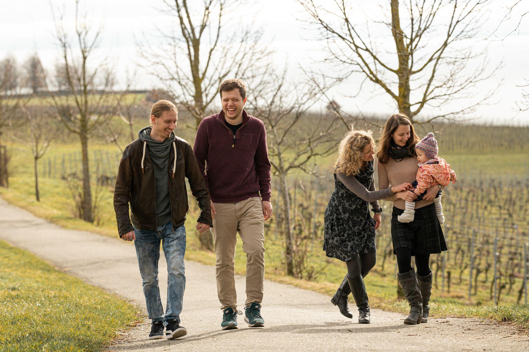 Familienshooting in Meersburg als Geburtstagsgeschenk